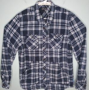 O'neill Super Fleece Flannel Button Front Shirt